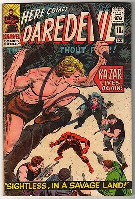 MARVEL Comics DAREDEVIL CENT COPY VOL 1 Issue 12 G+ 1965