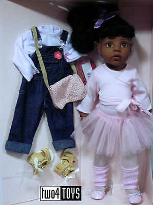 "Gotz AFRO-AMERICAN HANNAH AT THE BALLET PLAY DOLL - 50 cm/19.8"" - NRFB"