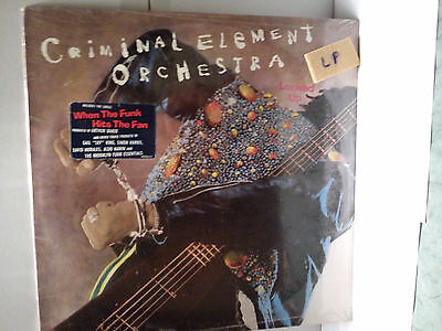 Criminal Element Orchestra - Locked up         ............................Vinyl