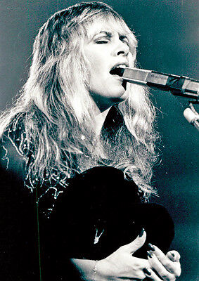 Fleetwood Mac's Stevie Nicks BW Poster