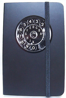 Telephone Pocket Address Book - 160 pages, elastic closure