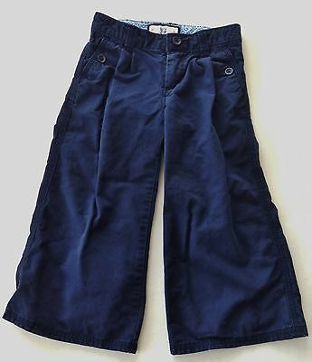 3 Years 3T Toddler Girl Baby Gap Spring/Summer Navy Sailor Wide Leg/Flare Pants