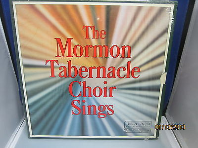 THE MORMON TABERNACLE CHOIR SINGS Readers Digest Collectio5 LP Box Set Mint 1973