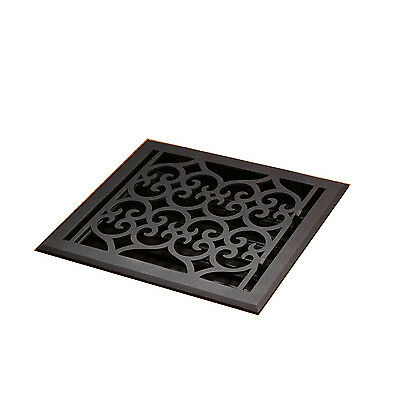 Naiture Smooth Cast Iron Floor Register Oversized Old Victorian Style In 15 Size