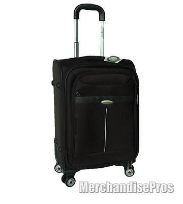 "20"" SAMSONITE 'ASTERIA II' CARRY-ON SPINNER EXPANDABLE UPRIGHT LUGGAGE NEW!"