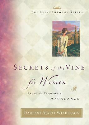 Secrets of the Vine for Women, Darlene Marie Wilkinson, Good,  Book
