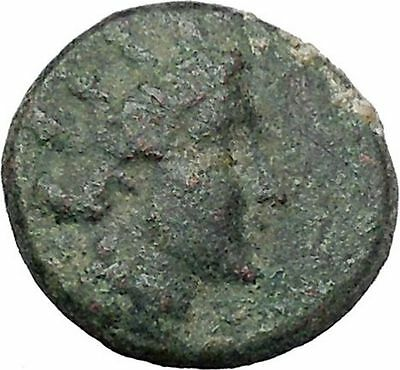 Apameia in Phrygia Ancient Greek Coin Artemis Diana Cult Satyr Marsyas i47165