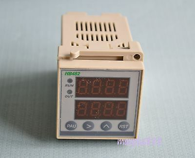 1PC High Quality Intelligent Digital LED Meter Counter Timer Hour Tachometer New