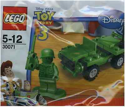 Brand New Lego - Army Jeep (2010) - Toy Story - 30071 - Fast & Free P&P