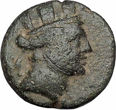 Hieropolis-Kastabala in Cilicia 2-1stCenBC Tyche Ancient Greek Coin  i47339
