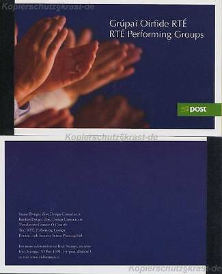 Irland - 2007 Markenheft Mh 64 - Musik - Booklet Rte Performing Music Groups **