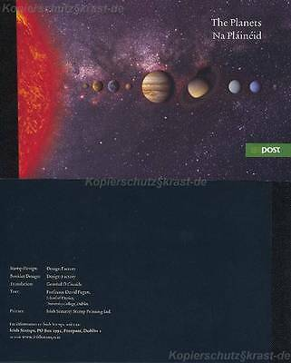 Irland - 2007 Markenheft Mh 62 - Planeten Booklet Planets **