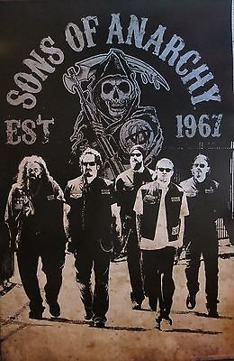 Sons of Anarchy Crew -Licensed POSTER-90cm x 60cm-Brand New