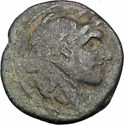 ALEXANDER I BALAS 152BC Seleukid Apollo RARE R1 Ancient Greek Coin i47334
