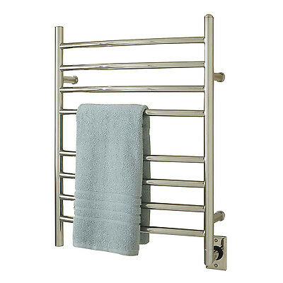 "Naiture 24""  Steel Curved Hardwired Towel Warmer In 2 Finishes"