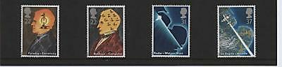 GB STAMPS  Set  1991 Scientific Achieve  SG 1546/9 MNH