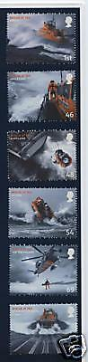 GB STAMPS Set (6)  2008 Rescue at Sea 2825/30 MNH