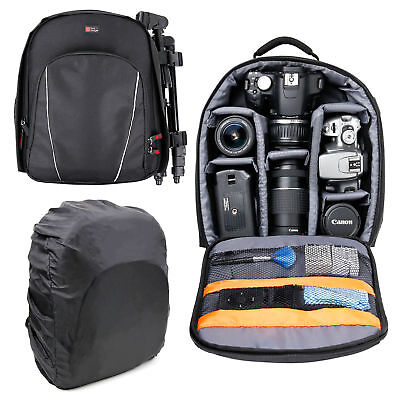 Premium Padded Camera Rucksack / Backpack / Case For Sony DSC-H300, DSC-H400