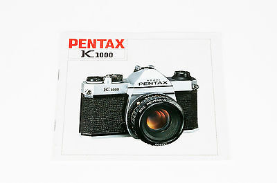Pentax K1000 Instructions Manual