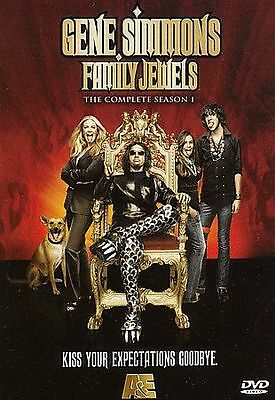 Gene Simmons FAMILY JEWELS Complete Season 1 DVD SET KISS first one 1st NEW