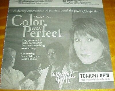 COLOR ME PERFECT tv ad Michele Lee Susan Blakely Robin Thomas #082613