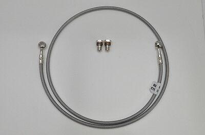 96-00 GSF1200 Bandit Galfer Braided Stainless Hydraulic Clutch Line  D121CL