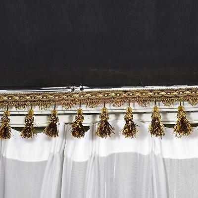 Bead Tassel Fringe Craft Trim Upholstery Gimp Window Decoration Home Furnishing