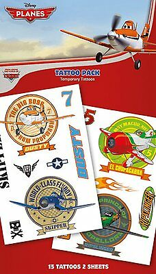 Official Disney Planes - Dusty - TemporaryTattoo Pack