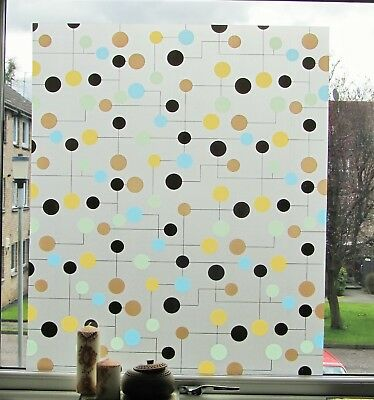 Decorative Window Film Stained Glass Frosted Vinyl Privacy Static Paper