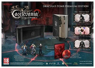 Castlevania Lords of Shadows 2 Draculas Tomb Collectors Edition Xbox 360 NEW