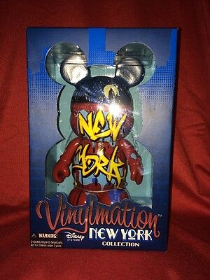 """Disney 9"""" Vinylmation New York Collection Le 1540 Graffiti Numbered"""