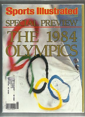 SPORTS ILLUSTRATED JULY 18, 1984 - SPECIAL PREVIEW - THE 1984 OLYMPICS  500+ pgs