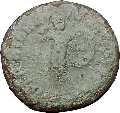 ELAGABALUS Perinthus in Thrace Rare Ancient Roman Coin Mars Ares War God  i48542