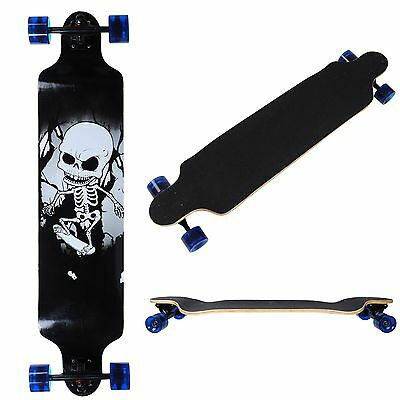 "Professional Longboard Complete 41""x 9 1/2"" Cruiser Canadian Maple Skatebaord"