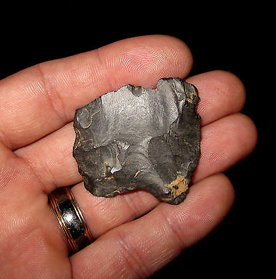 Ohio Authentic Paleo Clovis Base Indian Artifacts Arrowheads