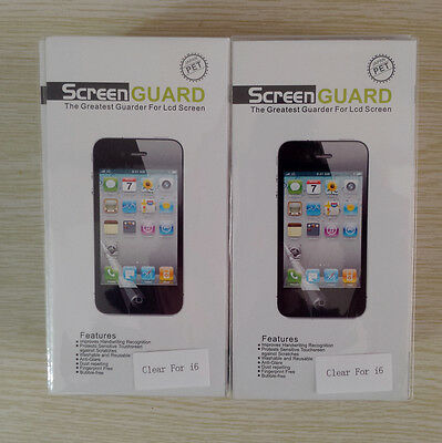 """Lots 1000 Front Clear Screen Protector Guard For iPhone 6 4.7""""  Retail Package"""