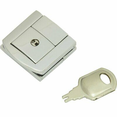 Catch with lock and key - Silver Custom or Repair Flight Case spare parts