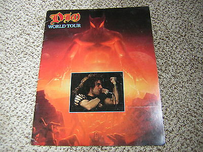 Dio Tour Book Last In Line 1984 Vivian Campbell Tour Program Black Sabbath