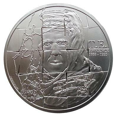 Niue 2013 $2 T.E. Lawrence 1888 - 1935 Lawrence of Arabia 1 Oz Silver Proof Coin