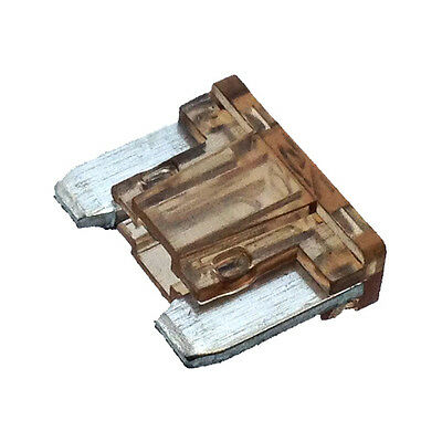 7.5A Brown LOW PROFILE MINI Blade Fuse Car Auto APS ATT 7.5 Amp  - Pack of 10