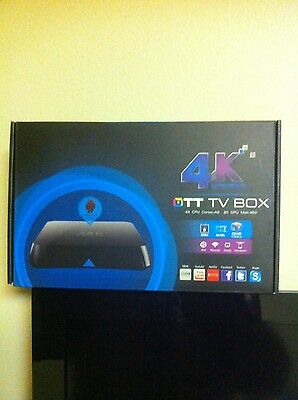 """4K Ott ANDROID TV BOX """"FULLY PROGRAMMED"""" READ DETAILS FROM Apple, HBO, and ESPN"""