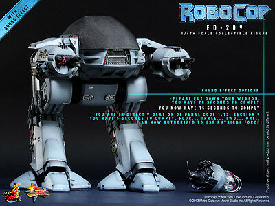 Hot Toys 1/6 MMS204 – RoboCop ED-209 with Sound Effect ED209 IN STOCK