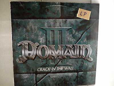 Domain - Crack in the wall   ..........................Vinyl