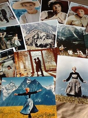 14 Publicity Photos (8x10) From 'The Sound Of Music' Julie Andrews