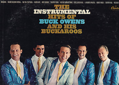 BUCK OWENS & HIS BUCKAROOS-- Four classic LPs for one low price!