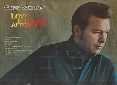 GENE WATSON -- Three classic LPs for one low price!