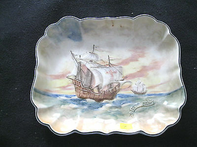 "Royal Doulton FamousShips Series ""The Matthew""  DeepServing Dish 1938-1958"