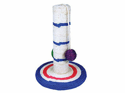 Sizal Cat Scratching Scratcher Post with Hanging Ball Toy choice of 3 Sizes