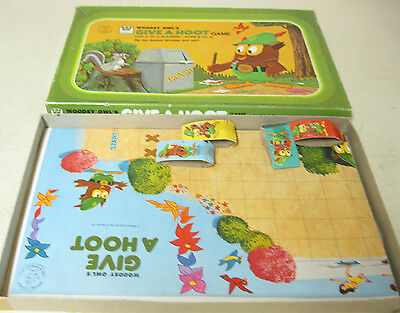 COLLECTIBLE 1976 WHITMAN WOODSY OWL'S GIVE A HOOT GAME
