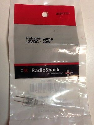 Halogen Lamp 12VDC • 20W #272-1177 By RadioShack